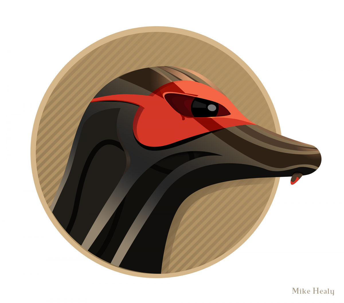 Mean Mongoose Illustration