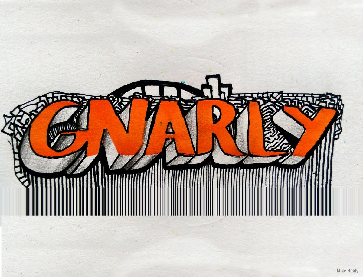 Gnarly (lettering)