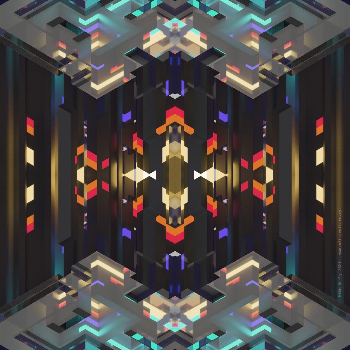 Voxel Kaleidoscope 1