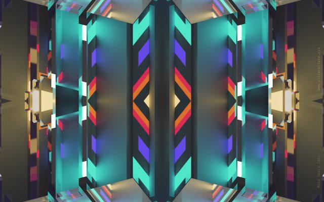 Voxel Kaleidoscope 2