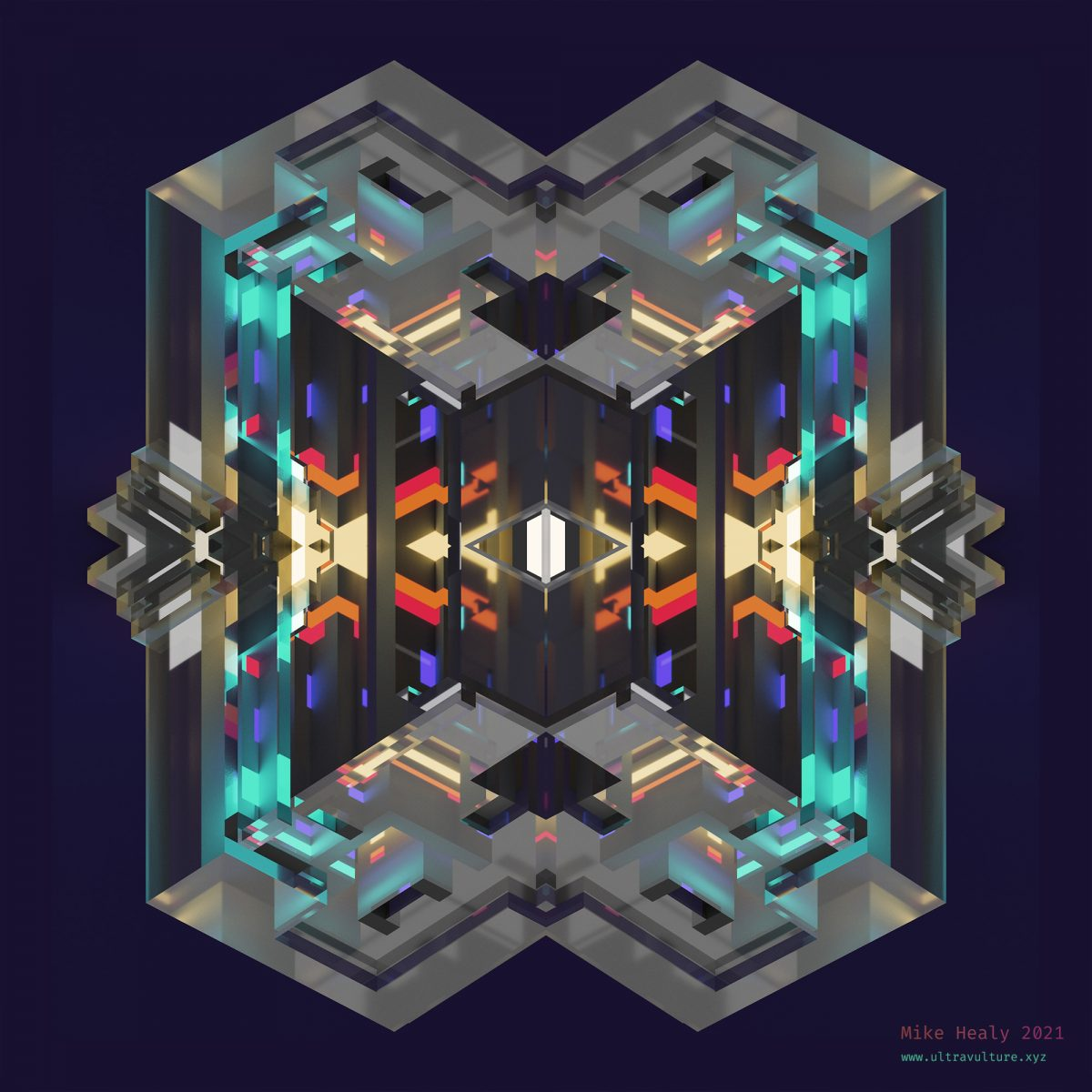Voxel Kaleidoscope 3